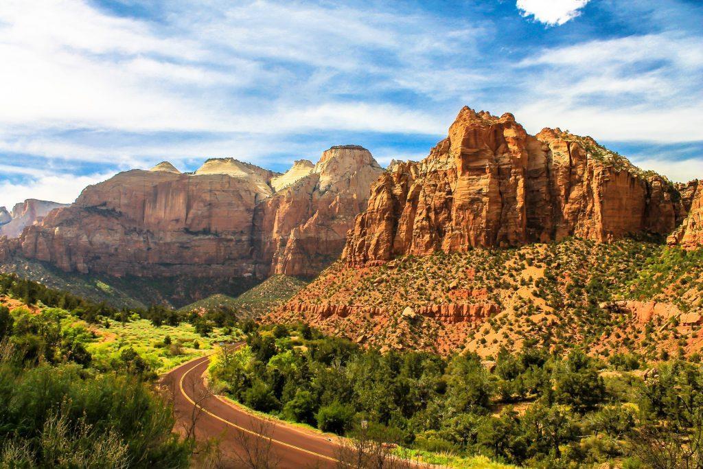 zion, zion national park, road trip