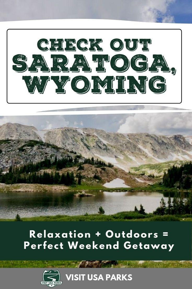 Saratoga Wyoming Pin