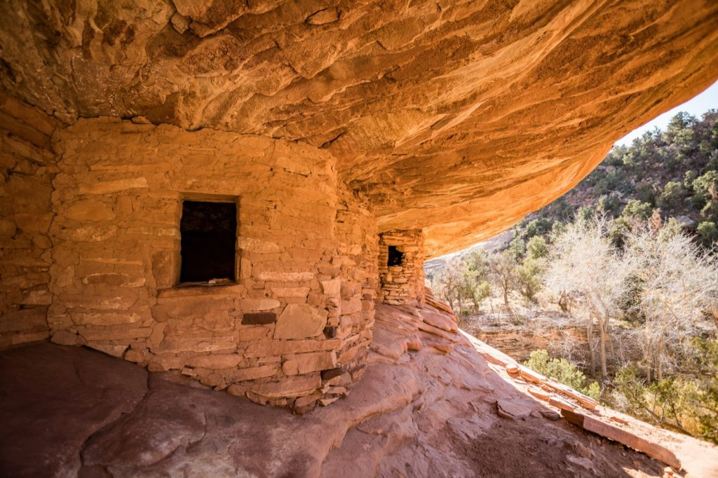 """Cliff dwellings """"house on fire"""" in Bears Ears National Monument"""