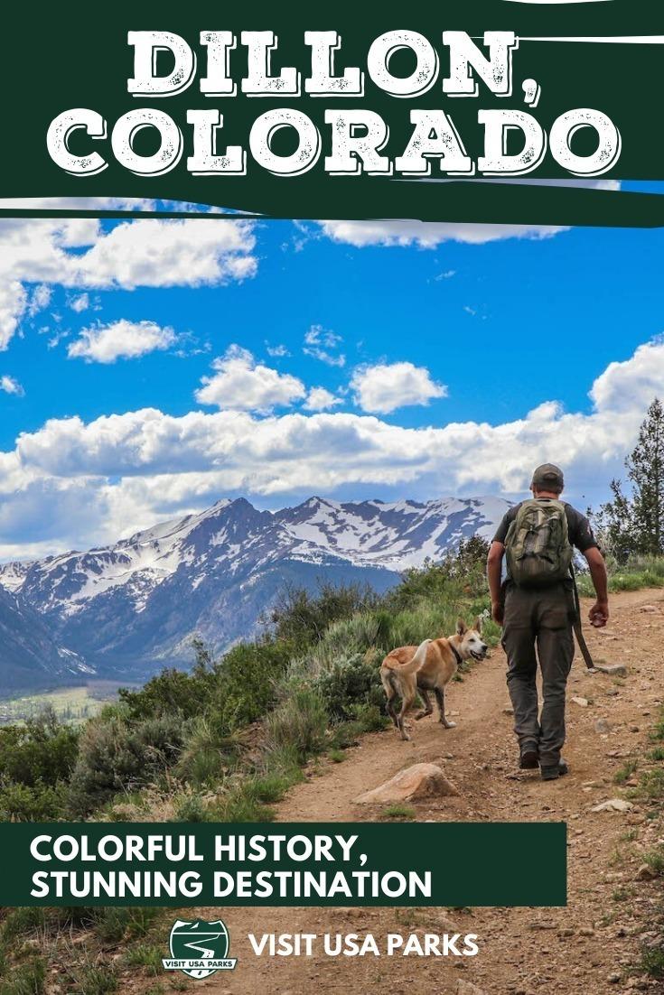 Dillon Co Colorado High Mountains pin