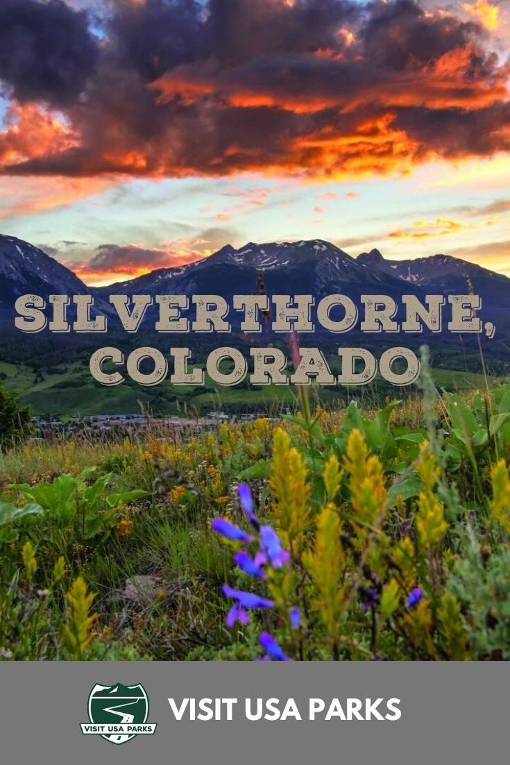Silverthorne Things to Do in Colorado Pin