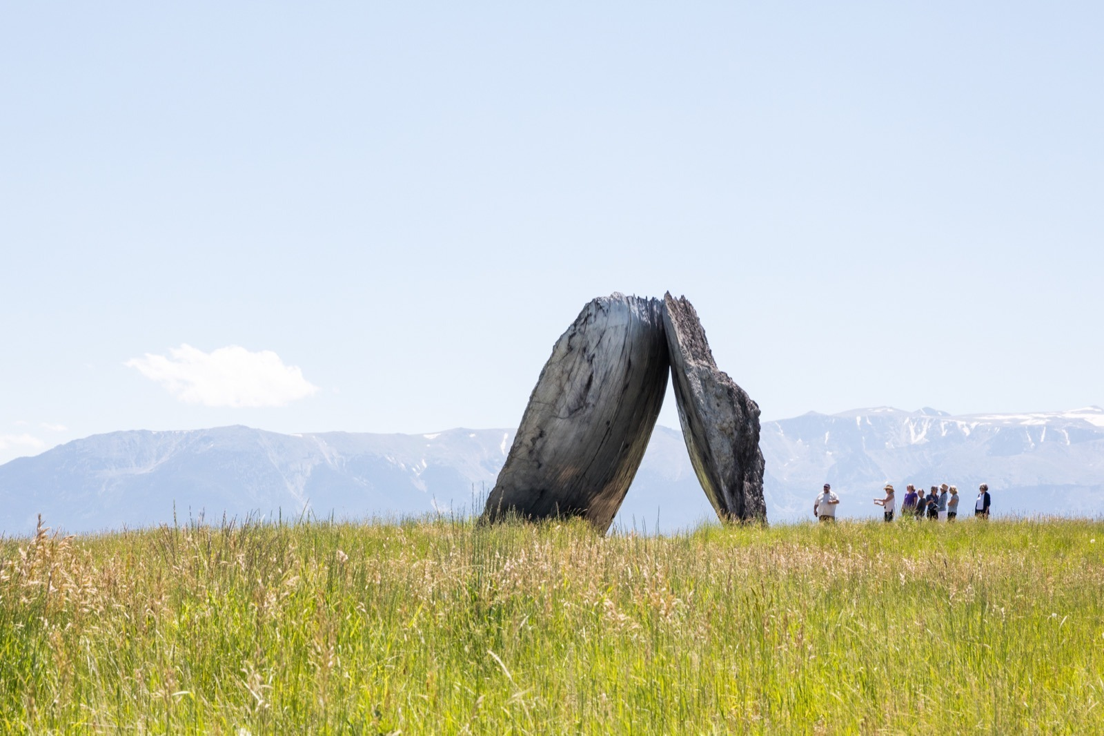 Structure at Tippet Rise Art Center