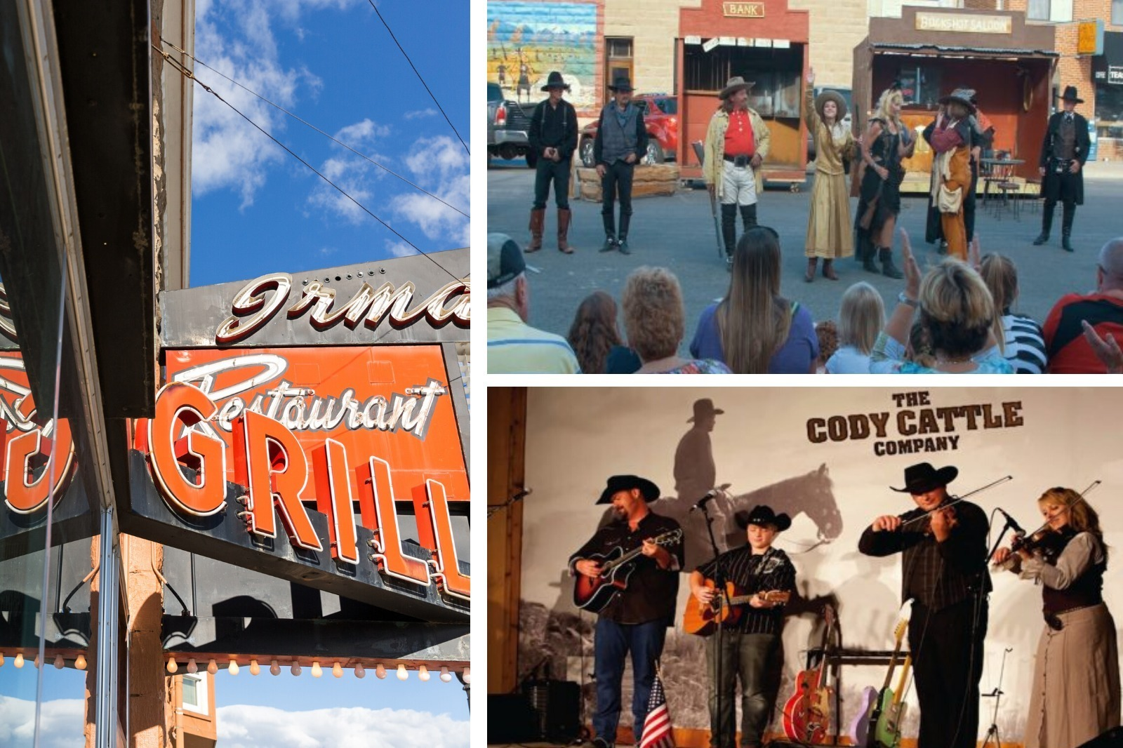 Downtown Cody Wyoming experiences for grand American adventures
