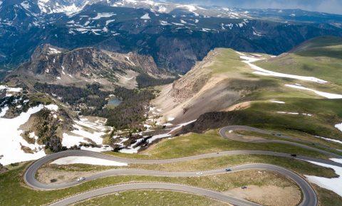Beartooth Pass Highway near Cody, Wyoming