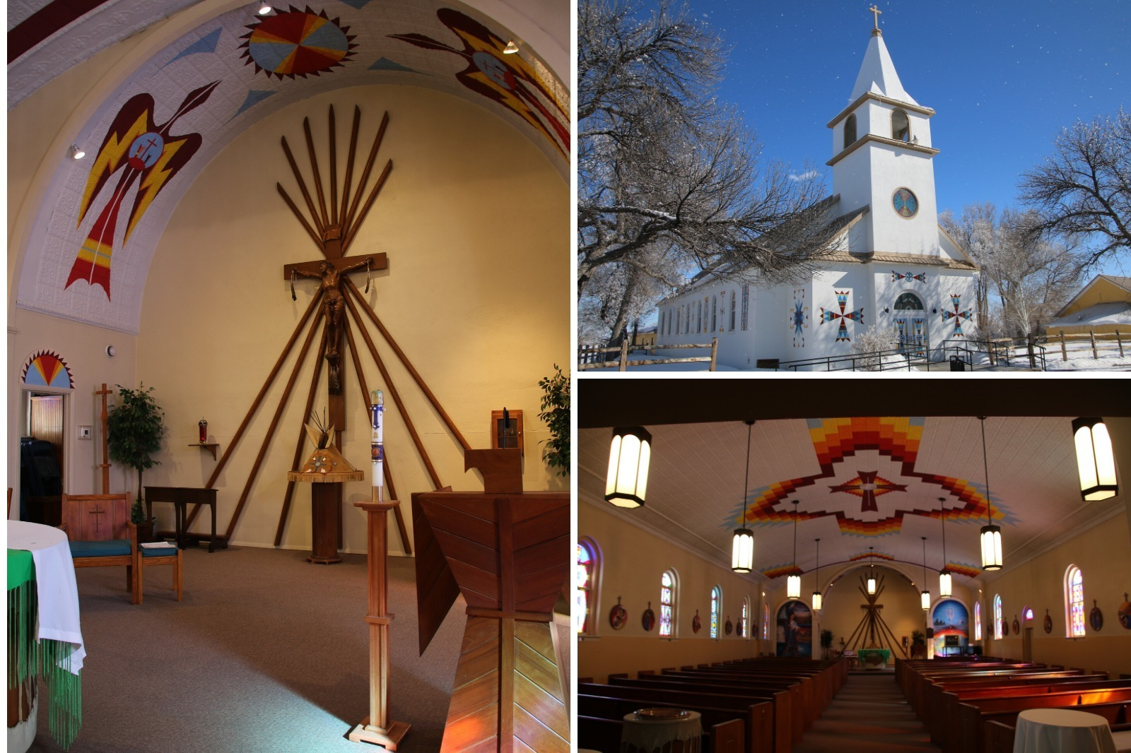 St Stephens Mission in Wyoming