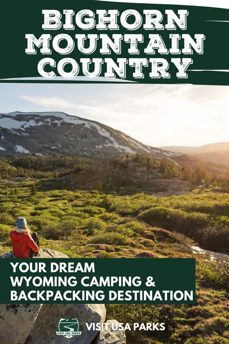 Wyoming camping backpacking trips