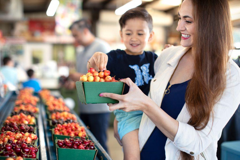 Farmers market in stockton, california