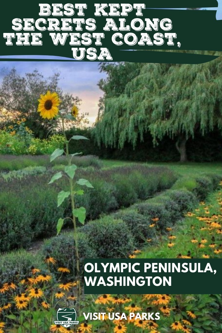 West Coast, USA pin for Olympic Peninsula