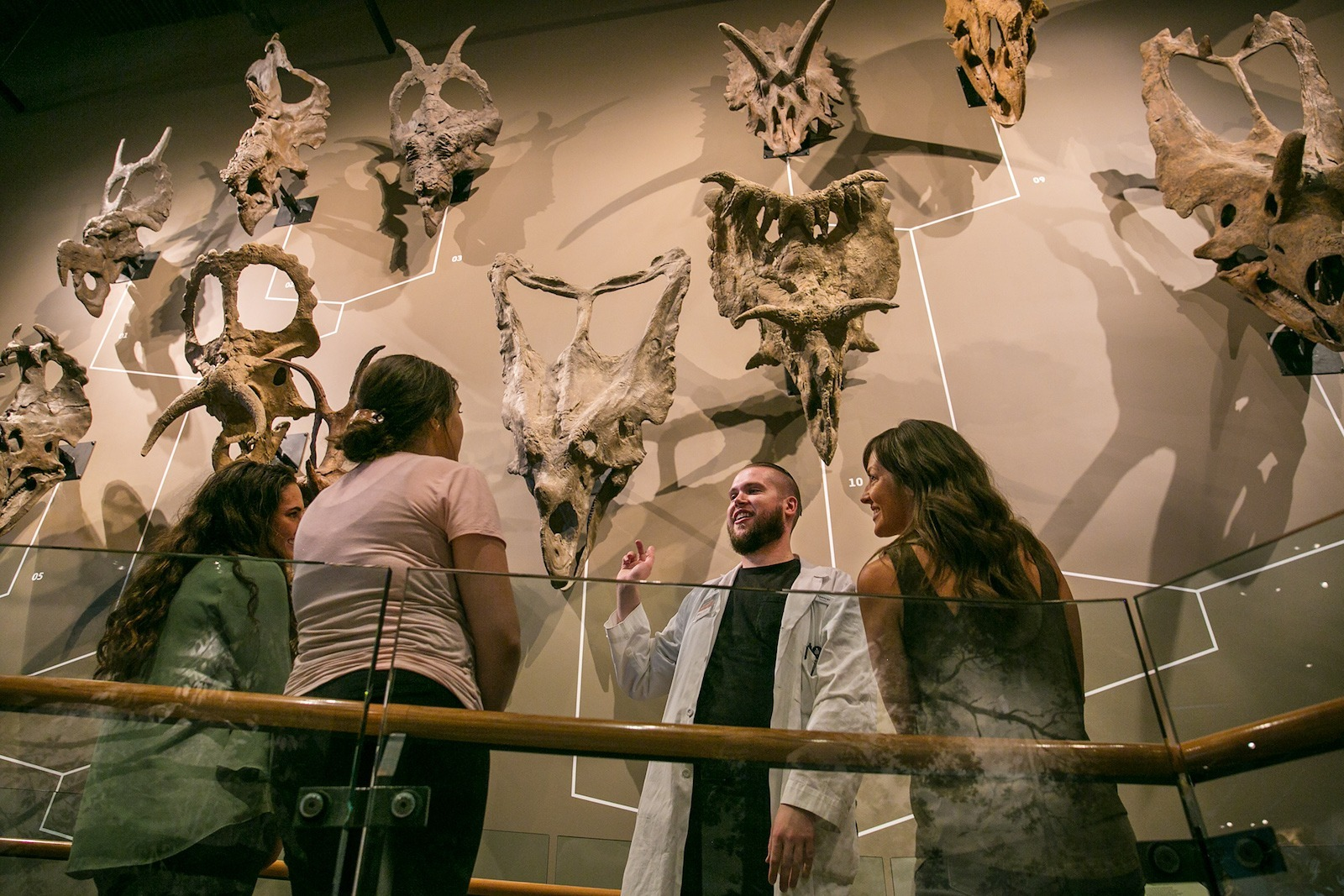 The dinosaur exhibit at the Natural History Museum of Utah is one the top Salt Lake City attractions
