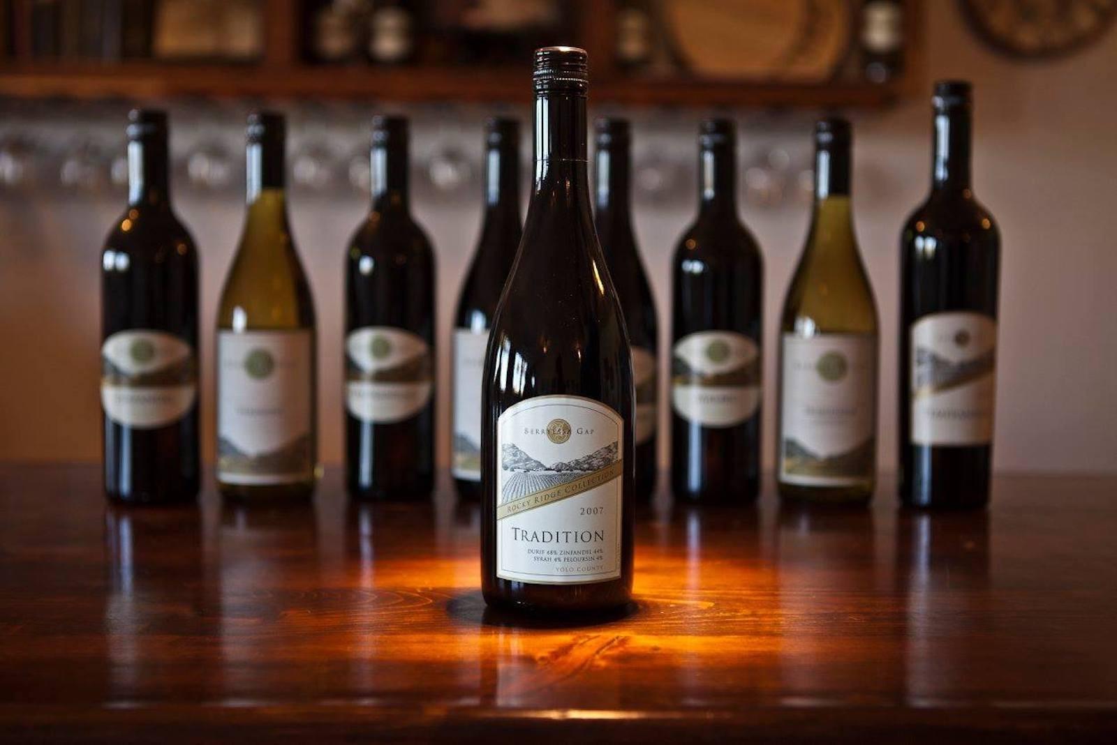 Wine Tasting in Winters, California