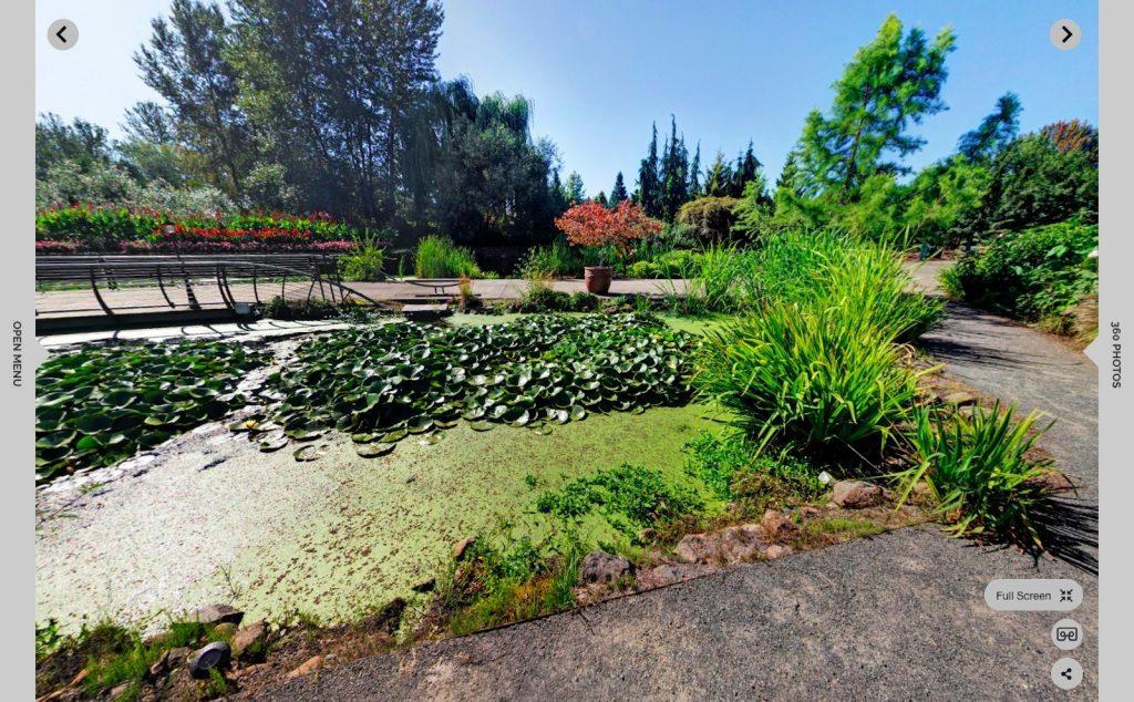 The Oregon Garden virtual tour and 360-degree photos