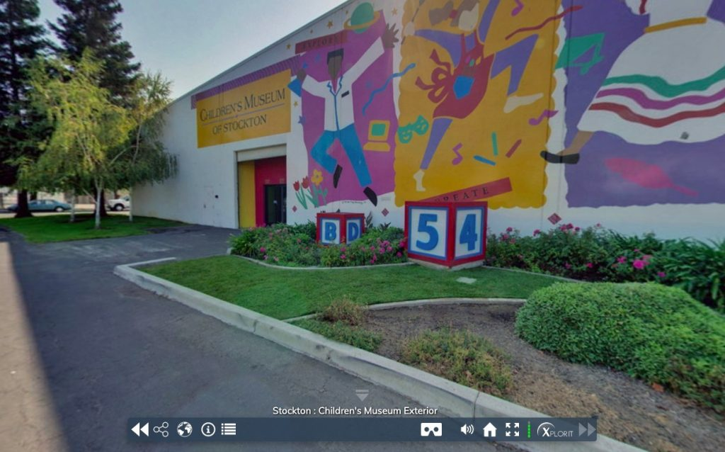 Children's Museum of Stockton virtual tour