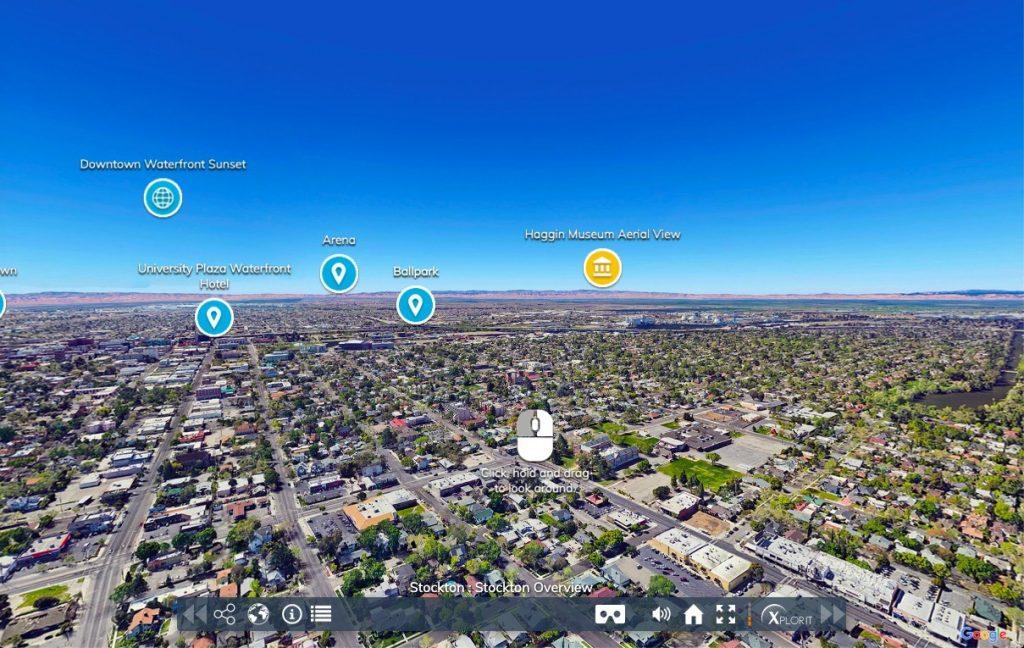 Stockton, California virtual tour