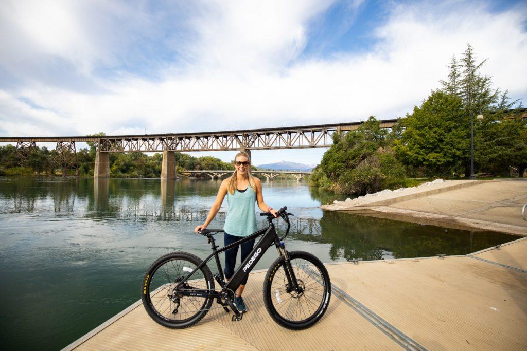 responsible tourism shown through electric bikes