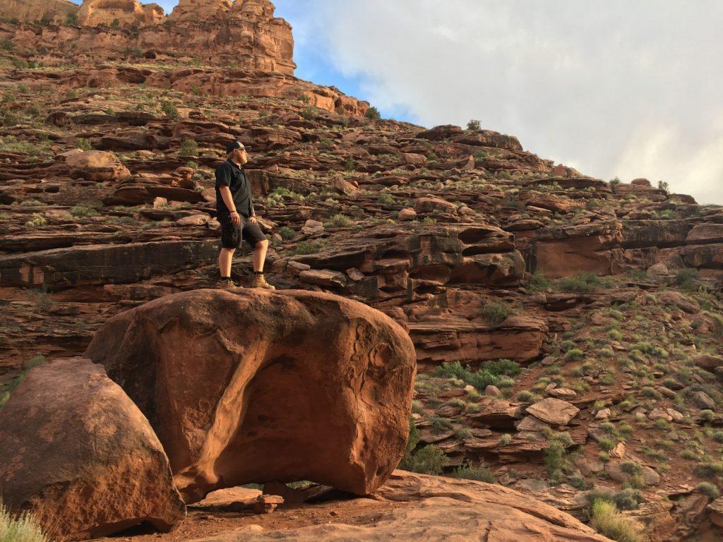 jamie in Moab