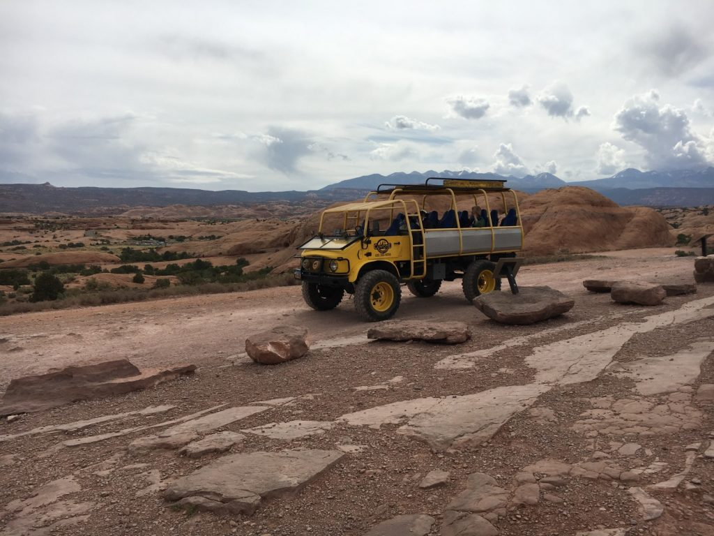 Unimog tour vehicle