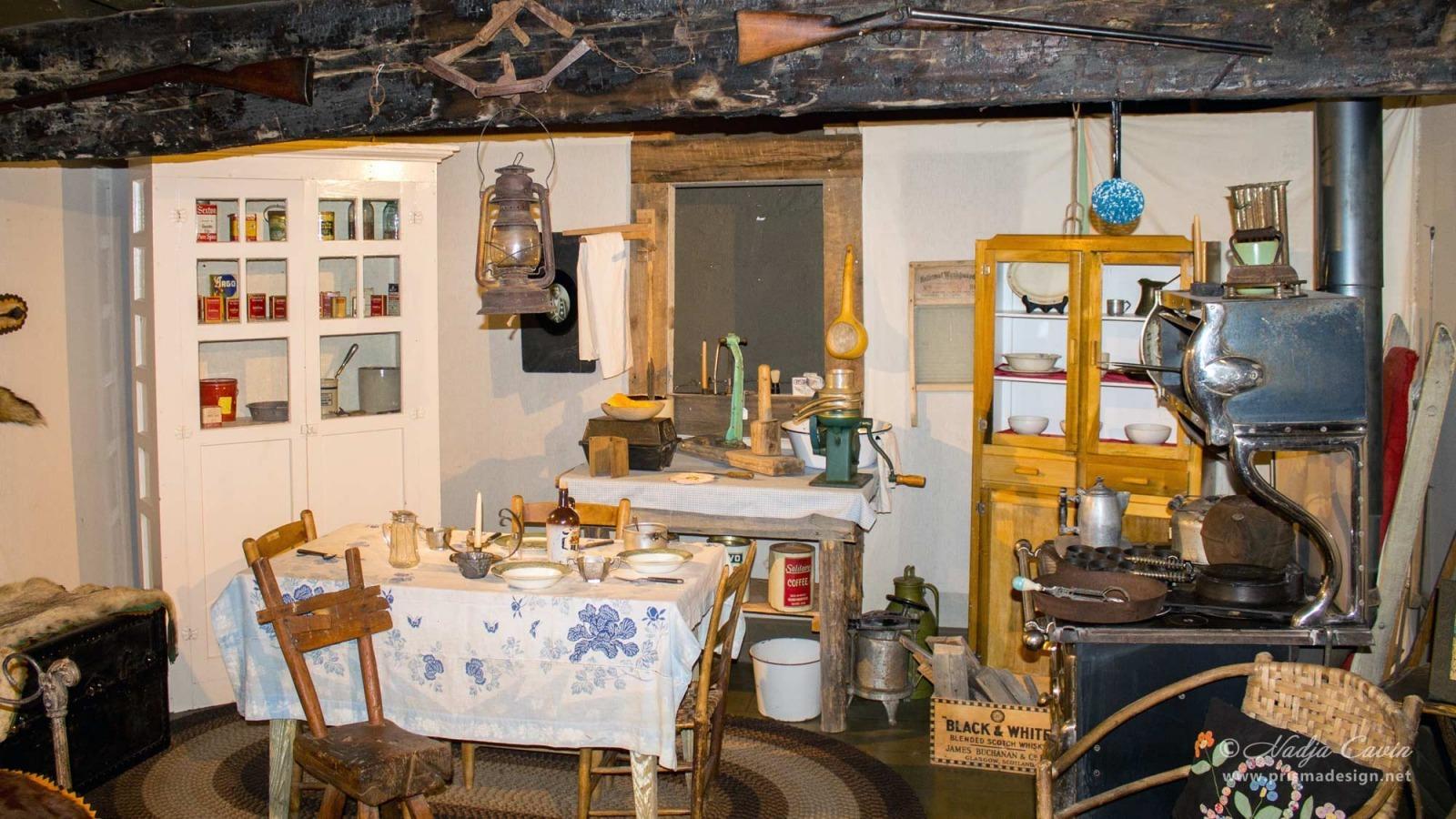 Hot Springs County Museum exhibit