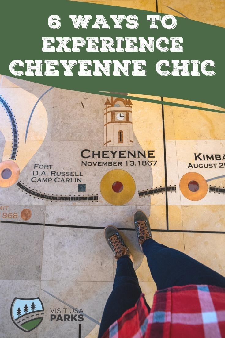 Cheyenne Chic pin
